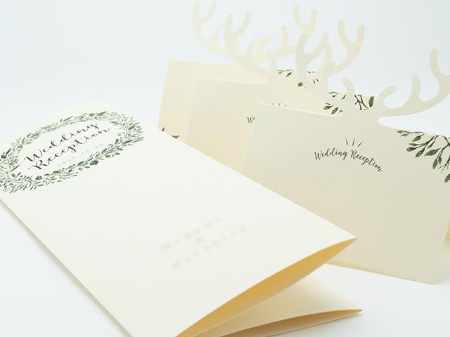 結婚式席次表・席札デザイン